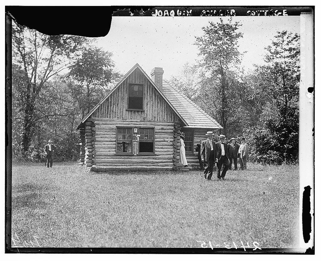 Superb img of log cabin in Meridian Hill Park? Its True! with #282828 color and 1024x832 pixels