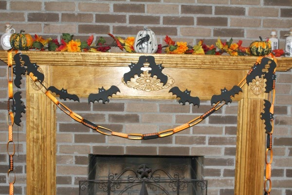 2 easy halloween garlands DIY