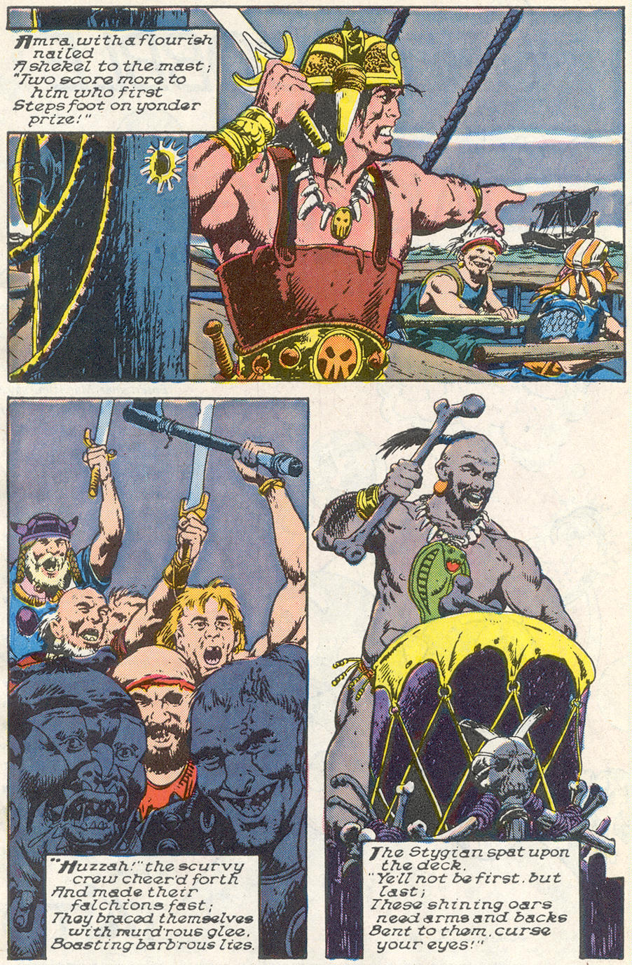Conan the Barbarian (1970) Issue #221 #233 - English 5