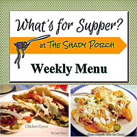 What's For Supper: Menu November 3, 2014