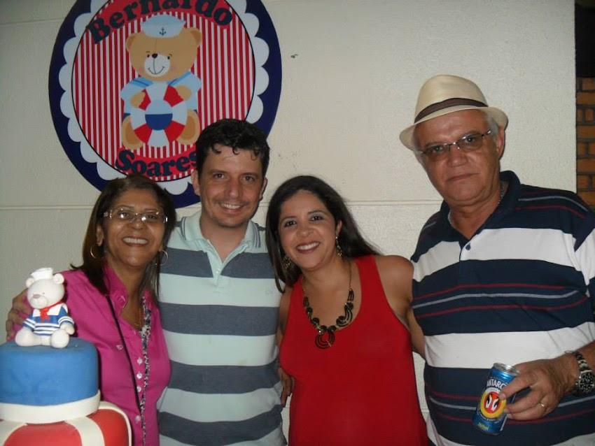 BRENDA, PABLO, PALOMA E O DICKSON.