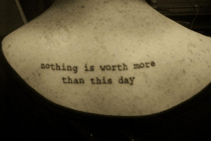 Quotes About Tattoos tattoo quotes p...