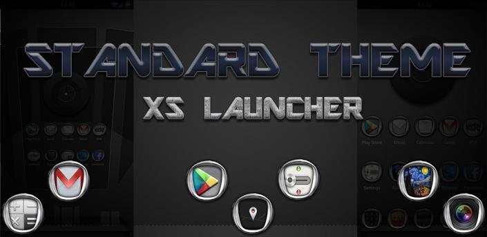 Next Launcher Theme Standard3D v1.1 apk download