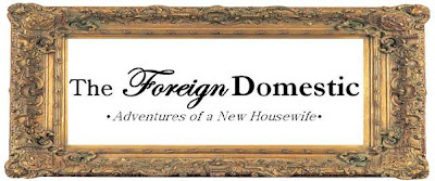 The Foreign Domestic: Adventures of a New Housewife