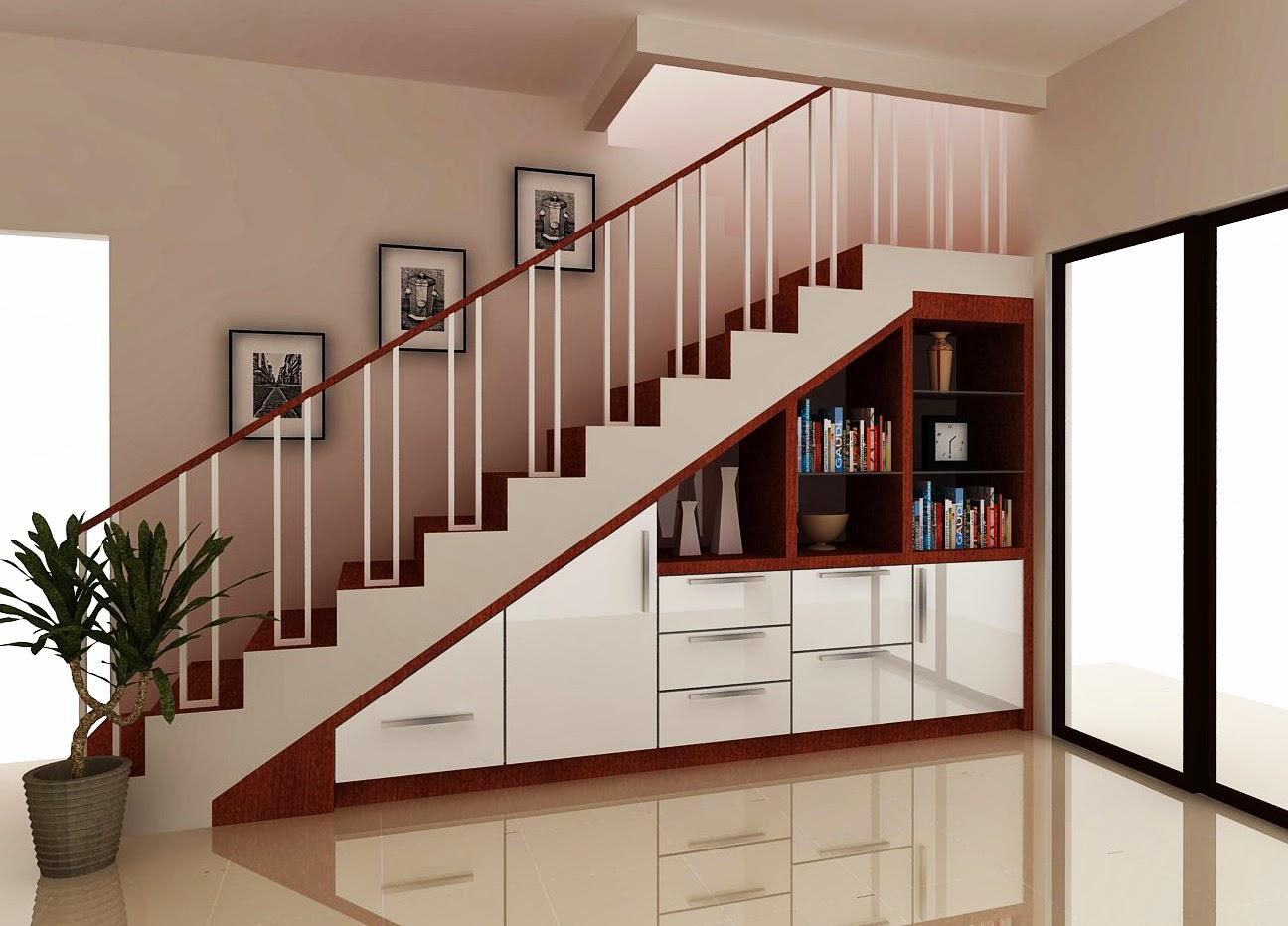 Myhome Interior Design Lemari Bawah Tangga