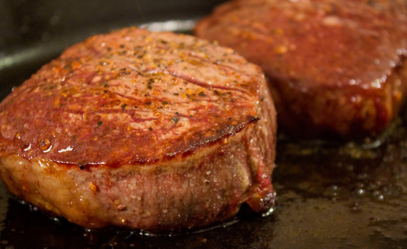 Munched: Pan Seared Steak