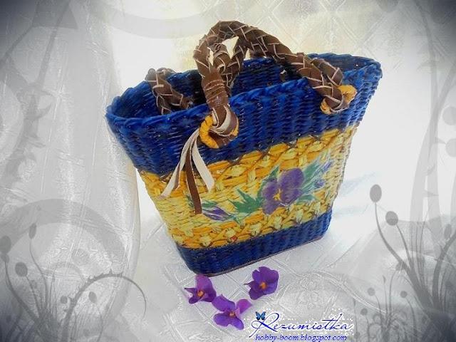 сумка плетеная своими руками