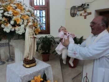 La espera de un hijo se hace más dulce en la iglesia de San García