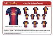 camisetas futbol baratascamisetas de Barcelona 201213