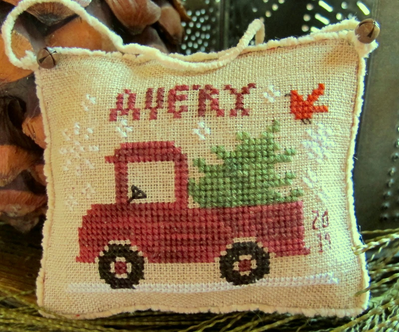 Avery's Little Red Truck ~ $7.00