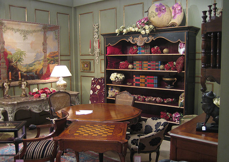 Charles Faudrees's French Country Interior Translation - Antique & Italian Classic Furniture: Charles Faudrees's French