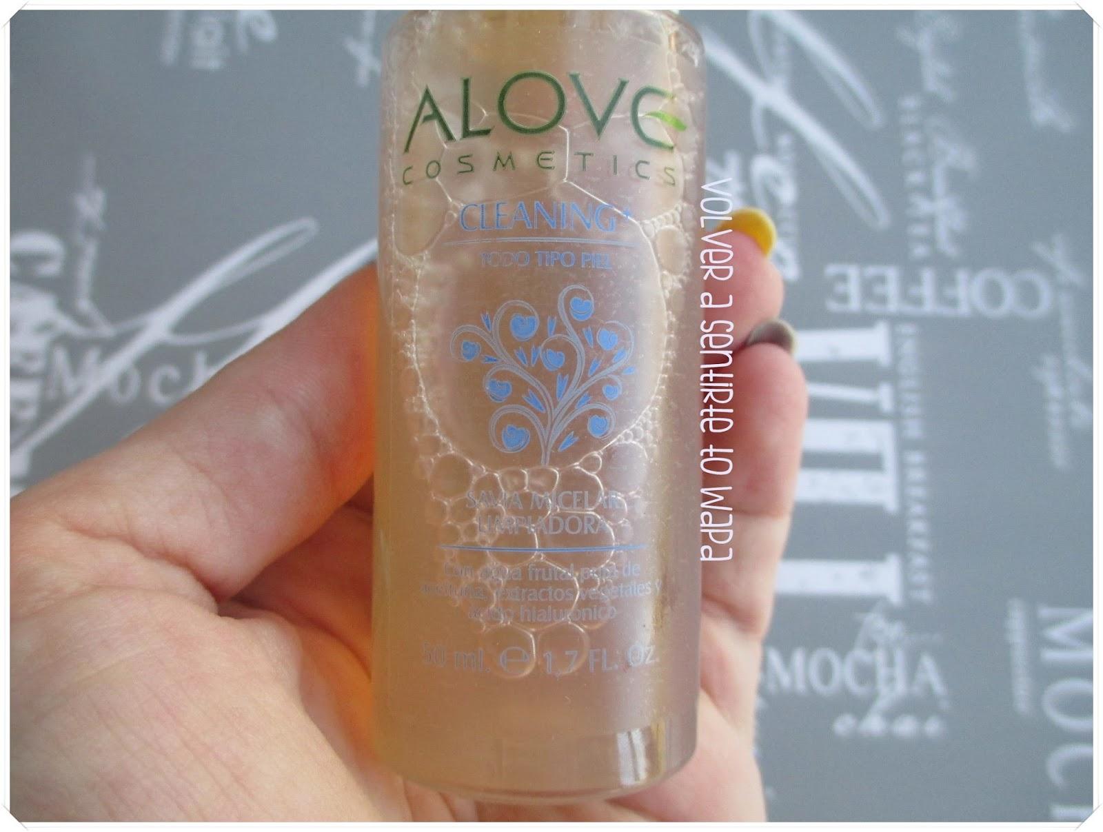 Alove Cosmetics - Gama Cleaning+ - Savia Micelar