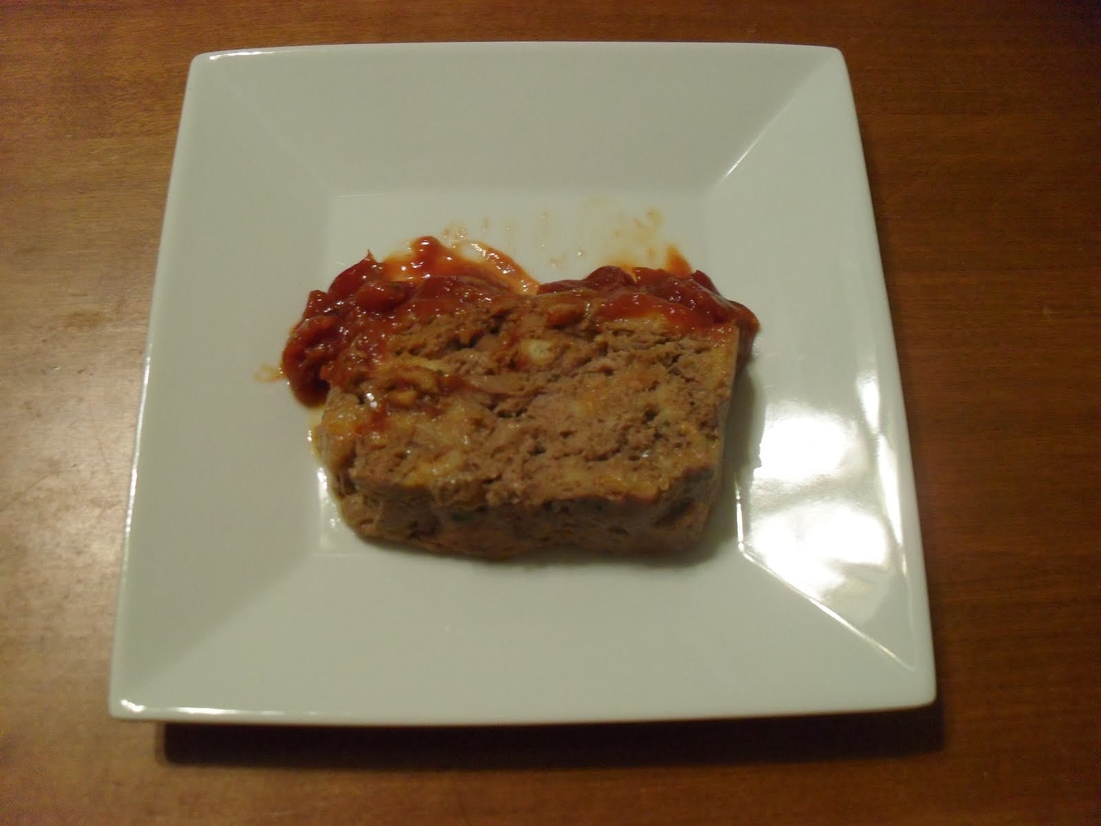 Spicy Garlic-studded Meatloaf