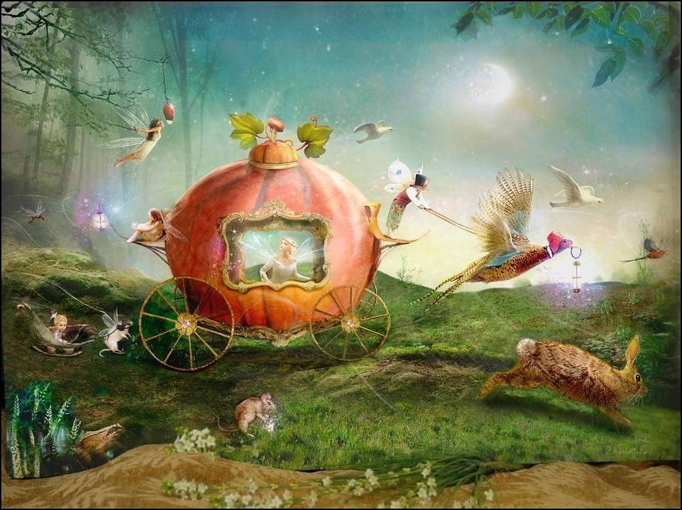 Charlotte Bird 'Moonlight Procession'
