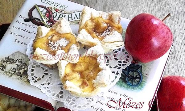 almás-mézes mini quiche fotó