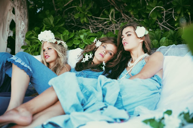 blue lagoon, le lagon bleu, brooke shields,wildfox,summer 2014
