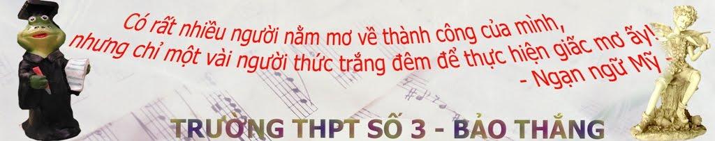 THPT so 3 Bao Thang