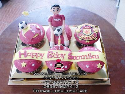 Cupcake Manchester United Untuk Suami