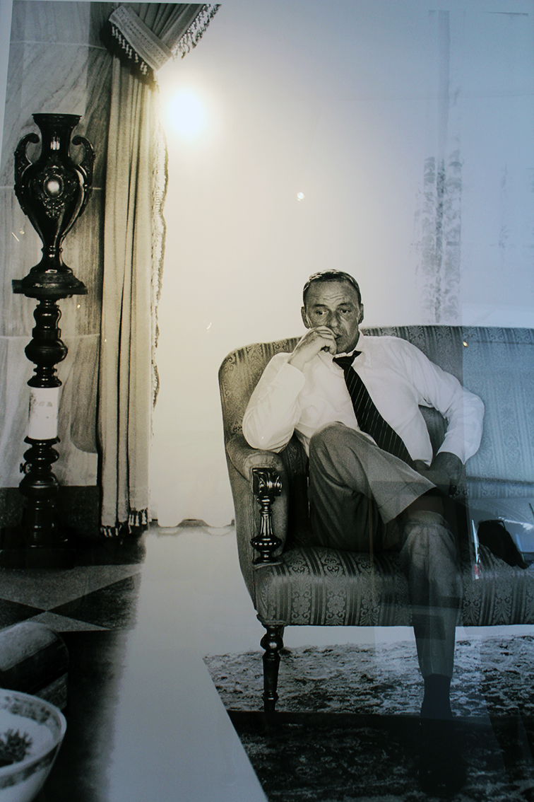 Frank Sinatra by Terry O'neill photography at Art Basel, MBAB 2014