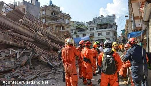 Segundo terremoto en Nepal
