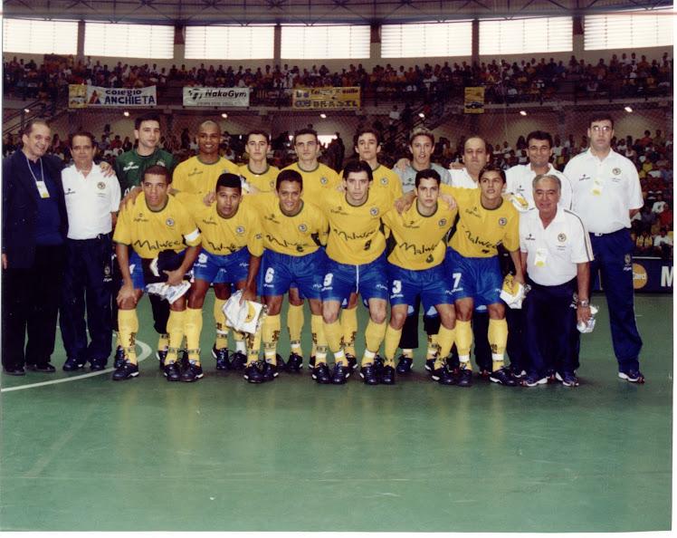 Desafio Internacional com a Seleção de Futsal
