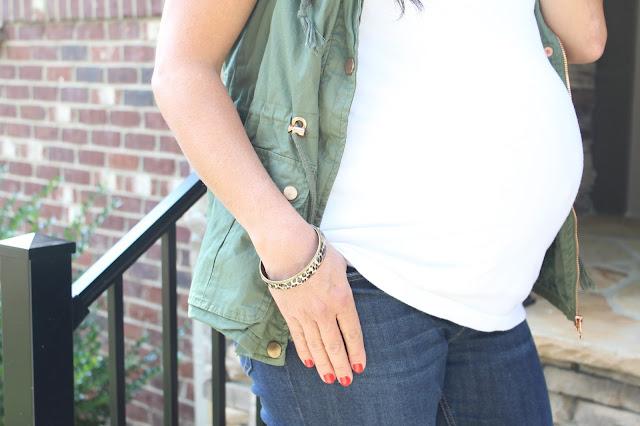 Military vest, maternity