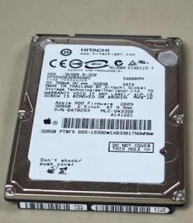 ổ cứng laptop hitachi 320gb ata 5400rpm cũ