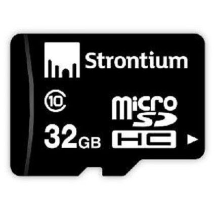 Buy  a memory card at amazing price only at 135  Strontium 8GB MicroSDHC Memory Card (Class 6)