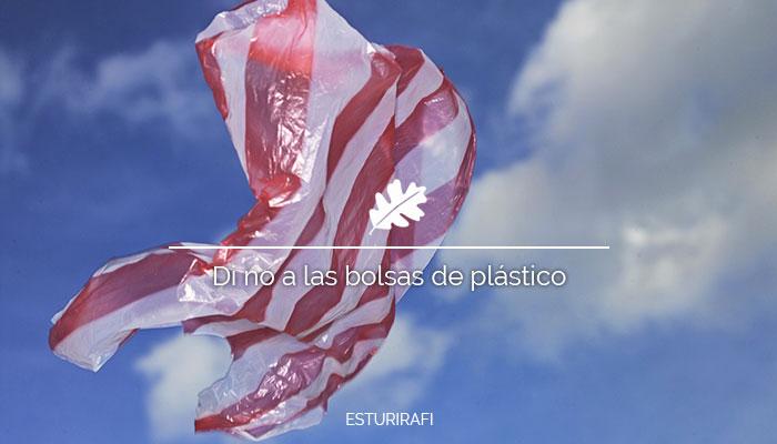 Bolsa de plástico volando