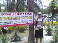 Evento gospel Comunidade Zona Sul Rio de Janeiro dez/2012