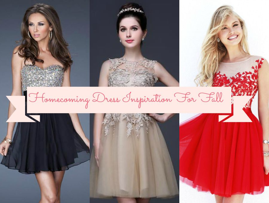 Homecoming Dress Inspiration For Fall