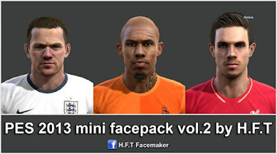 PES 2013 mini facepack vol.2 by H.F.T