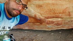 Eco Fazenda Mundo Novo - Pinturas nas Rochas
