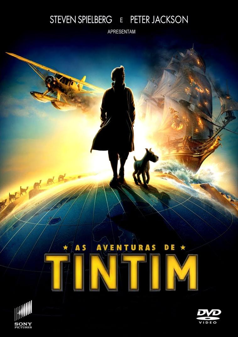 capa As Aventuras de Tintim