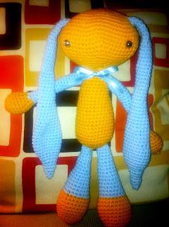 conejo crochet amigurumi