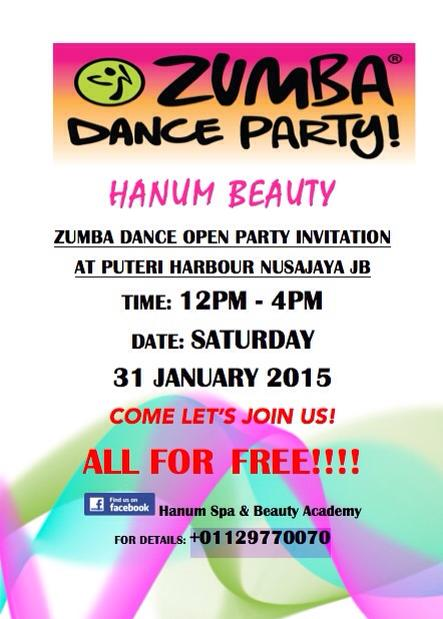 Hanum beauty zumba dance fitness zumba dance open party hanum beauty zumba dance fitness stopboris Image collections