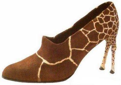 raros zapatos
