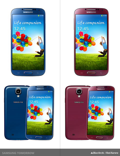 Samsung Galaxy S4 color variants