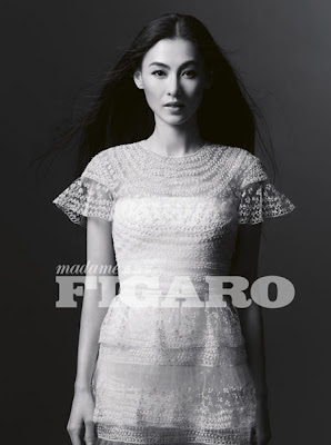 Cecilia Cheung poses for Figaro magazine to promote new film The Lion Roars 2