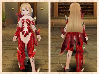 魔結晶の鎧 赤1+茶色2