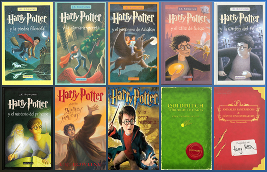 descargar libros de harry potter pdf