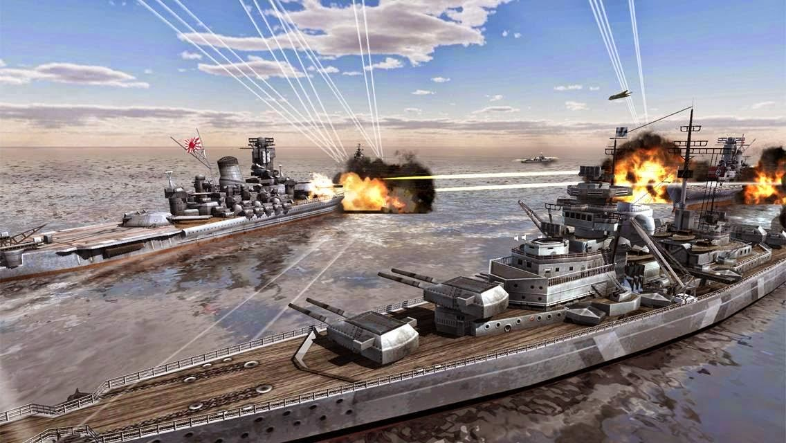 Download Game Call Of Warship World Duty MOD ( Unlimited Money ) Android