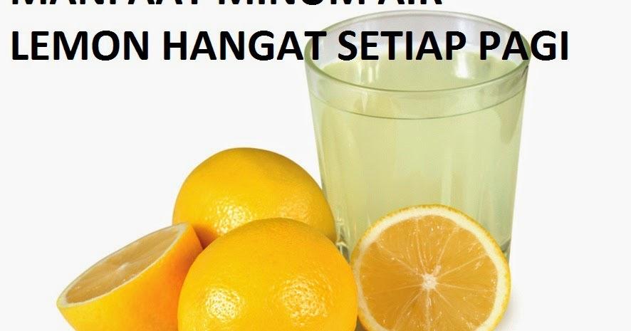 Manfaat Minum Air Lemon Hangat Setiap Pagi Hari