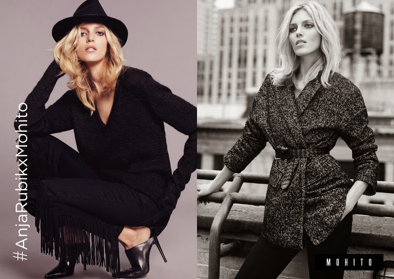 Anja Rubik Exclusive Collection for Mohito