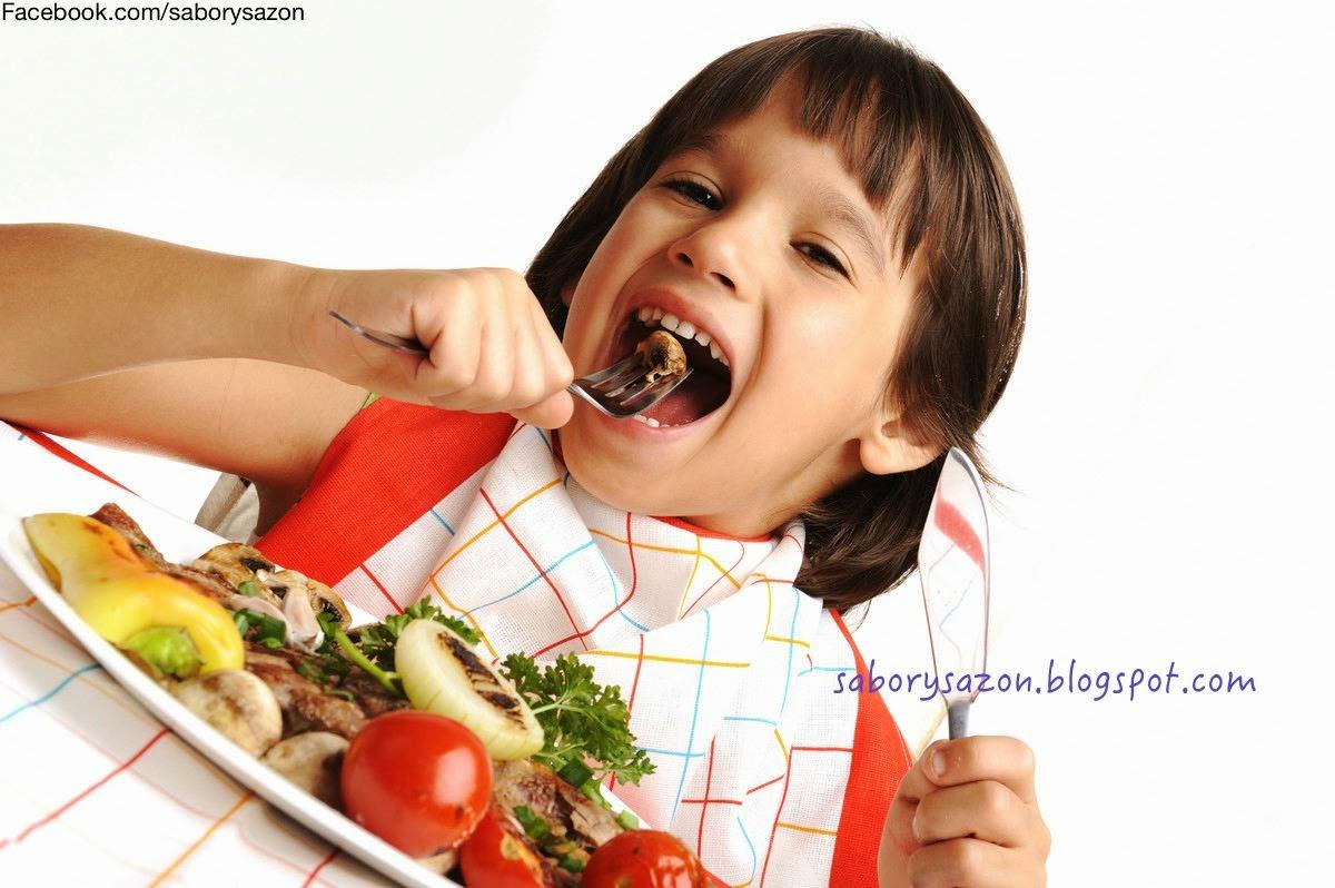 MENUS SALUDABLES PARA NIÑOS - nutricion infantil