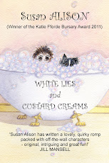 White Lies &amp; Custard Creams by Susan Alison: romantic comedy with a touch of mystery