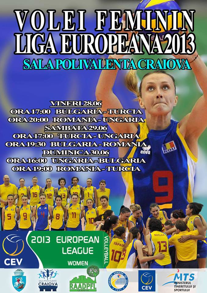Liga Europeana 2013 la volei feminin