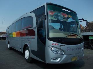 Gambar Bus Sinar Jaya Jetbus