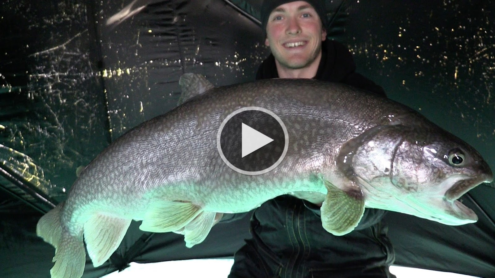 How to fish january 2016 for Lake trout ice fishing