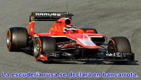 DEPORTES: Marussia se despide de la Fórmula 1